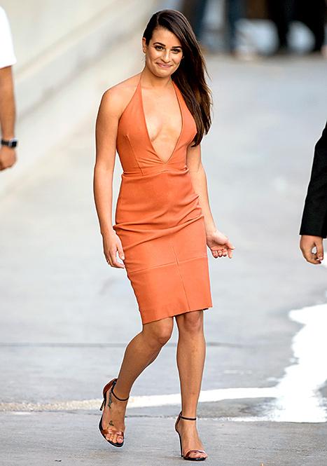 Lea Michele - orange