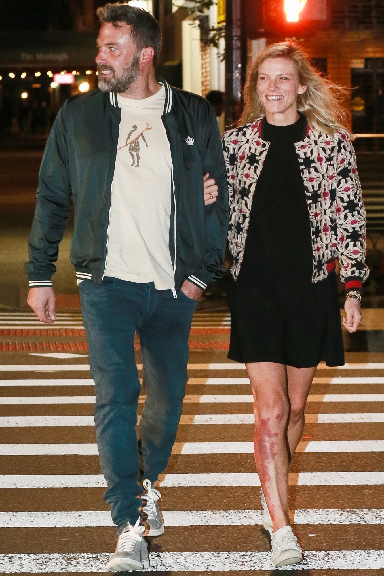 Ben Affleck, Lindsay Shookus, Movie Date, It, New York City