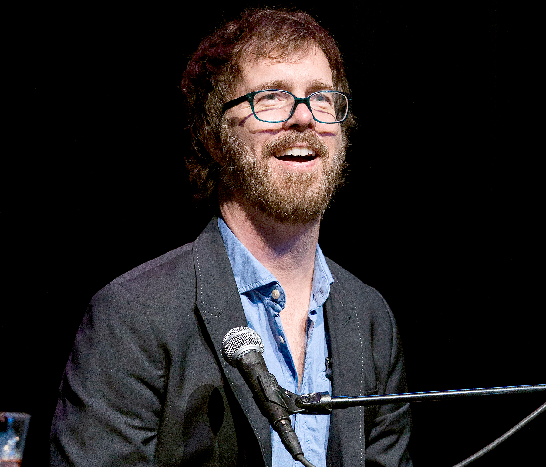 Ben Folds performs in support of his So There tour at The Fillmore on May 12, 2016 in Detroit, Michigan.