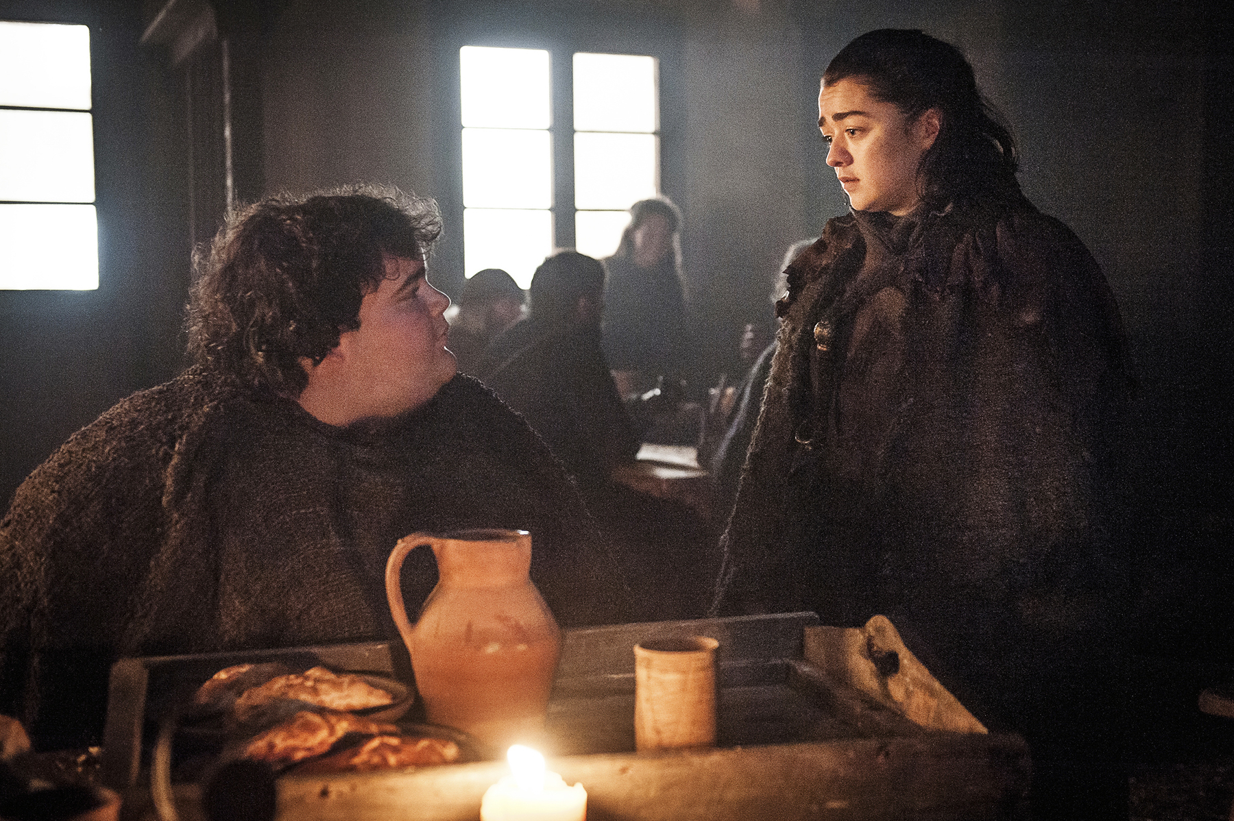 Ben Hawkey Maisie Williams Game of Thrones