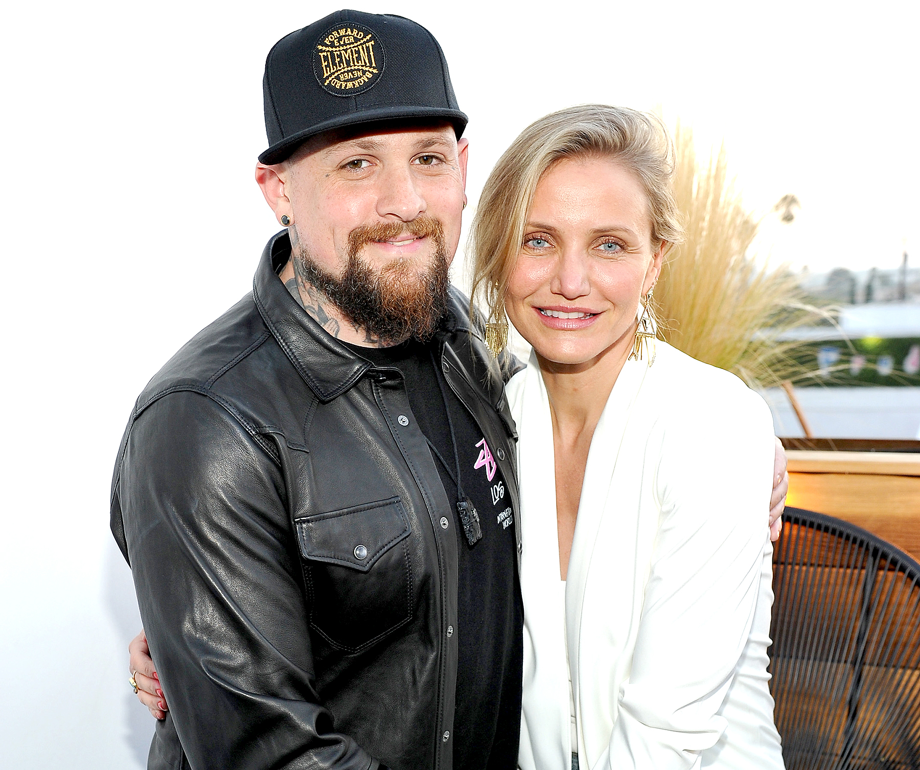 Benji Madden and Cameron Diaz attend House of Harlow 1960 x REVOLVE on June 2, 2016 in Los Angeles, California.