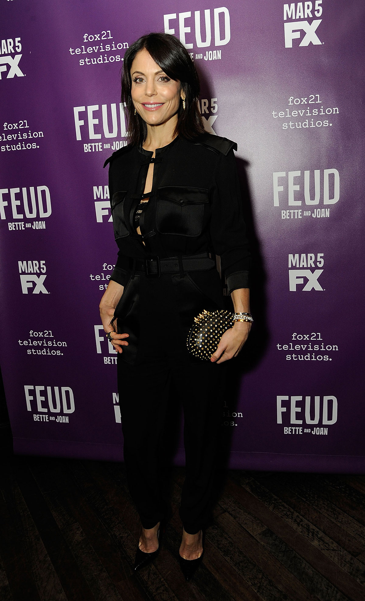 Bethenny Frankel attends the 'Feud' Tastemaker Dinner at The Monkey Bar on February 13, 2017 in New York City.