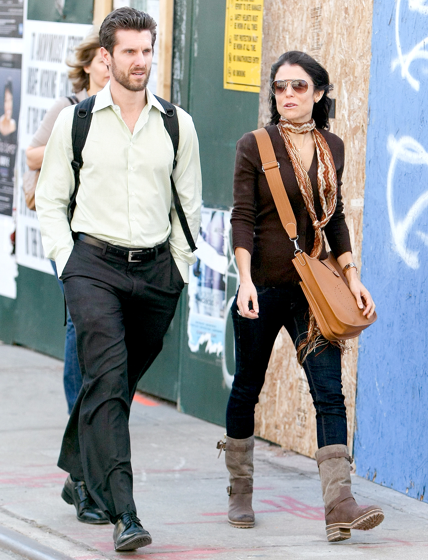 Bethenny Frankel and Jason Hoppy in 2012.