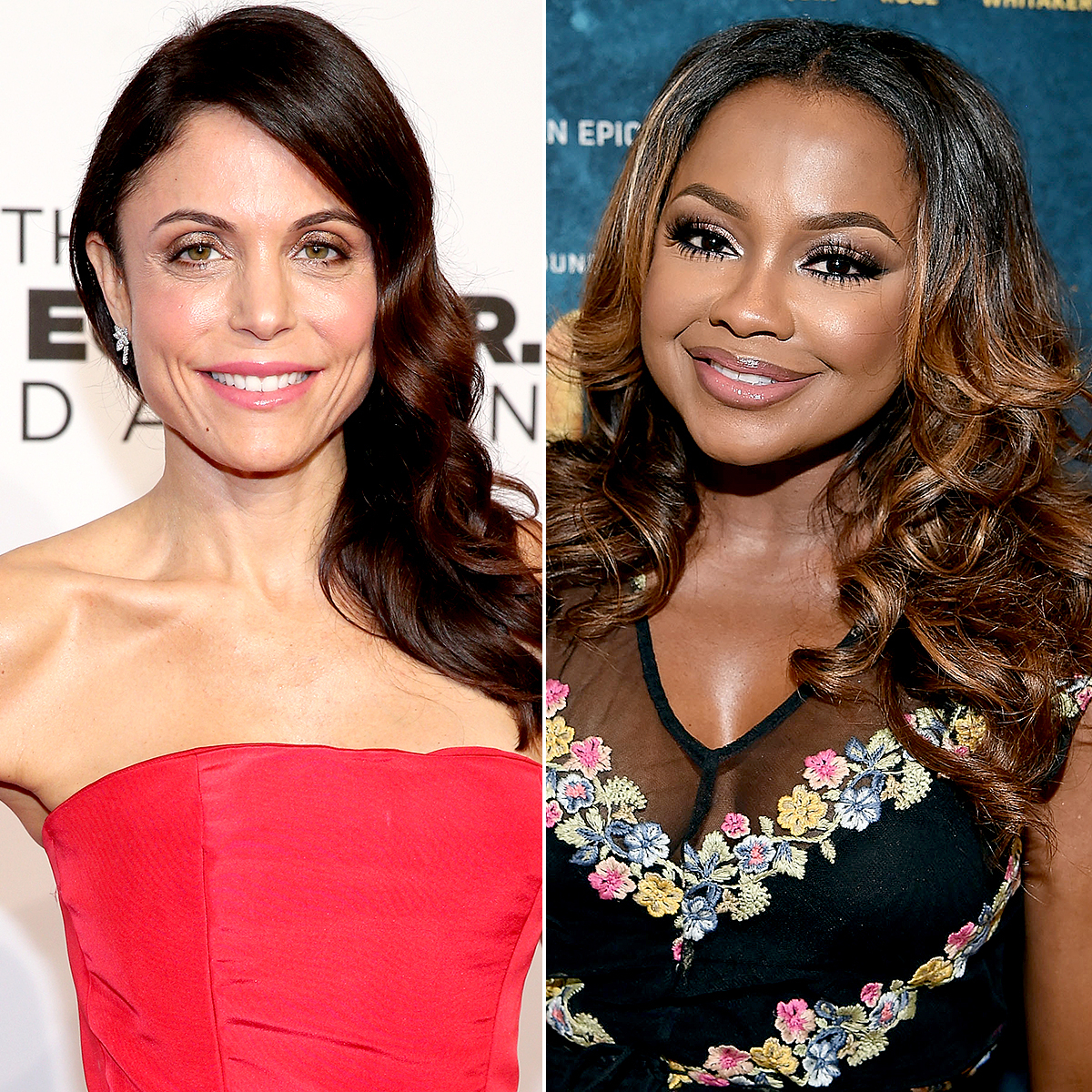 Bethenny Frankel and Phaedra Parks