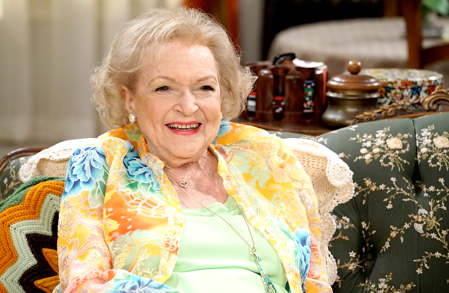 "Betty White on ""Young & Hungry"""