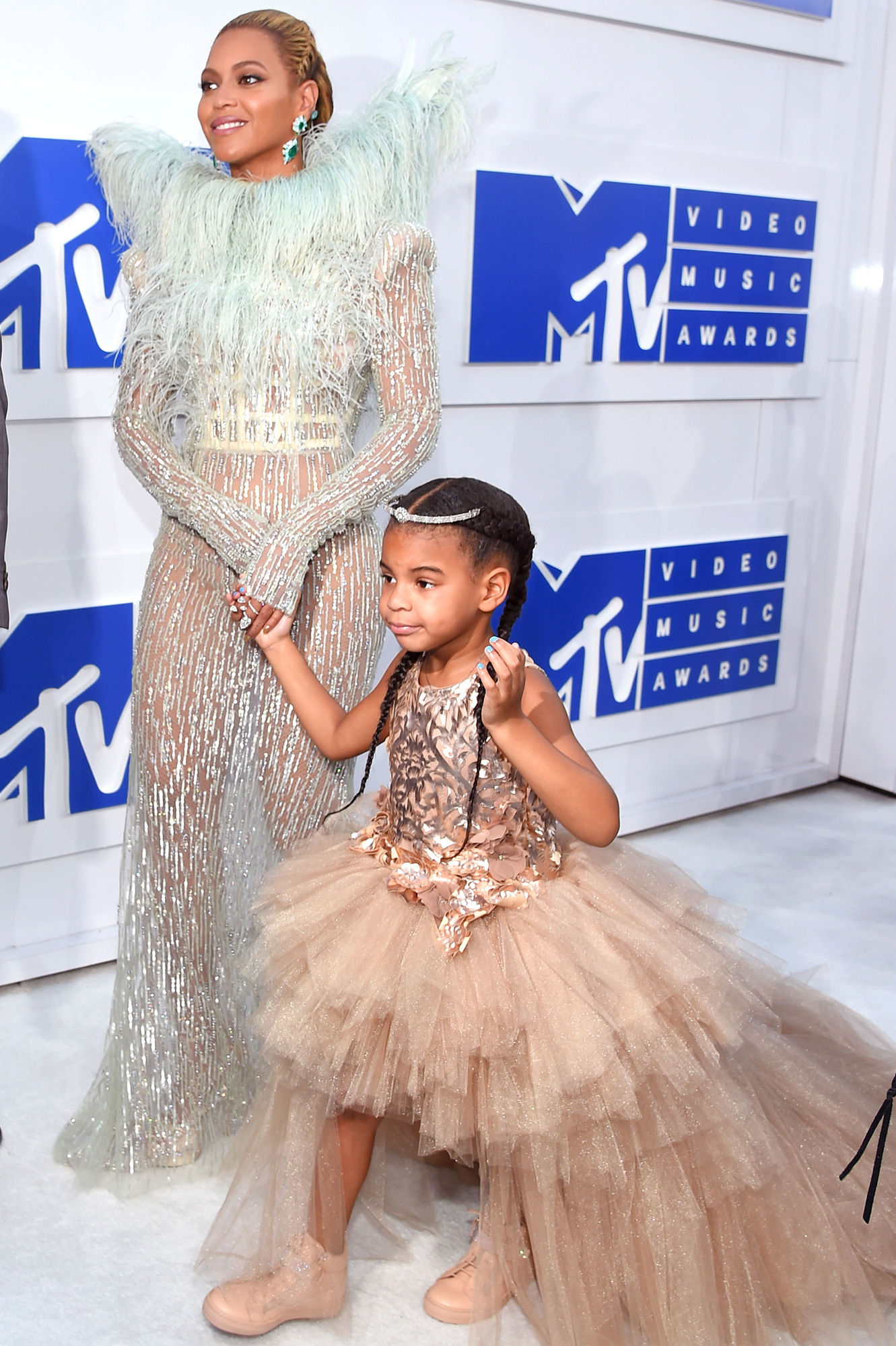 Beyonce, Blue Ivy, 2016 MTV Video Music Awards