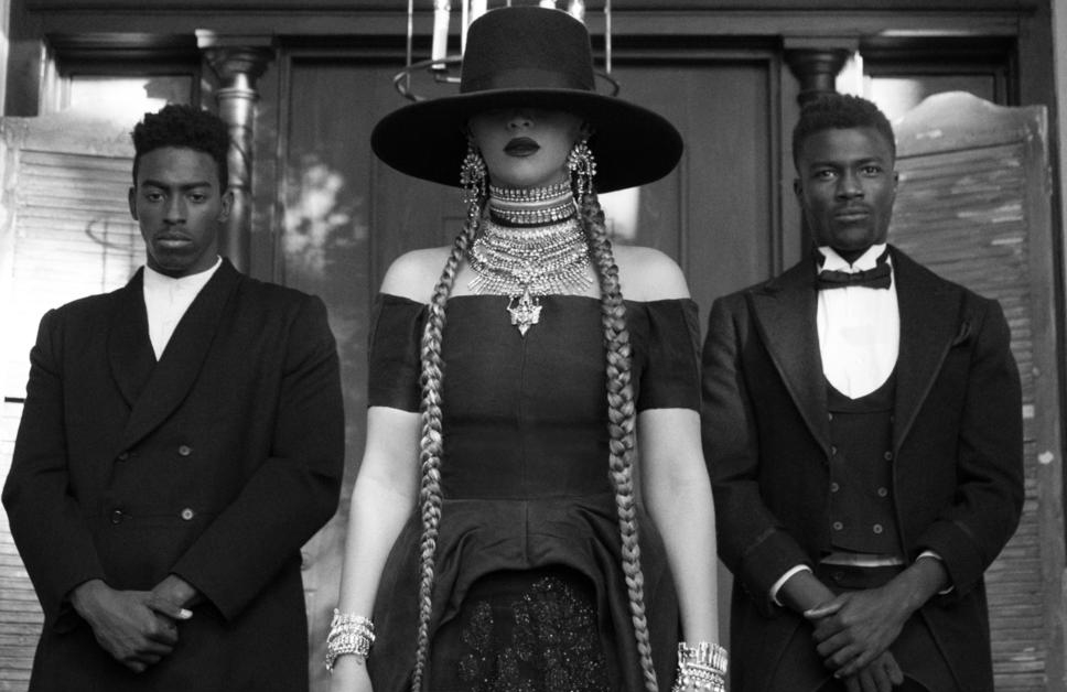 Beyonce in Formation.