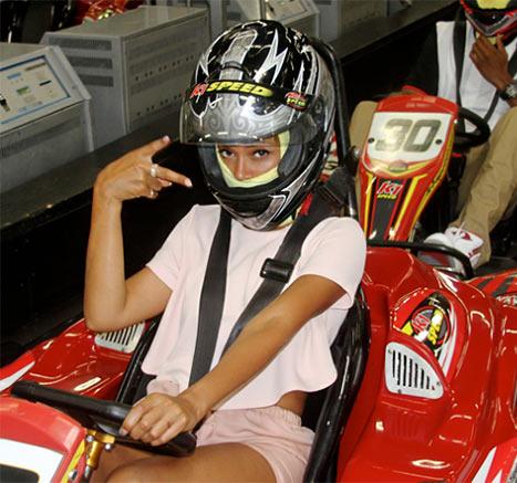 Beyonce Go Cart