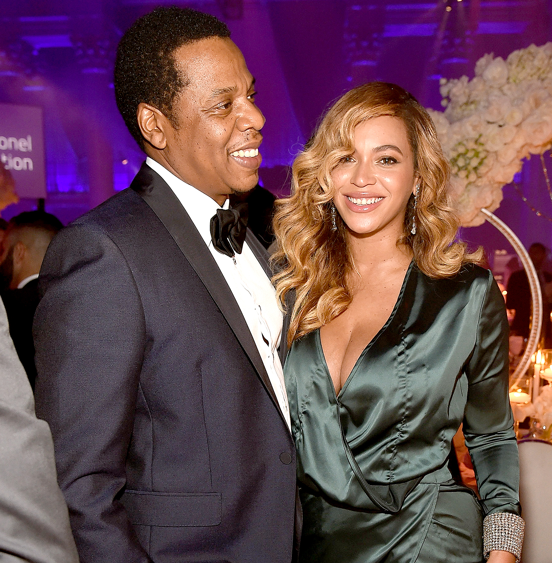 Jay-Z and Beyonce attend Rihanna's 3rd Annual Diamond Ball Benefitting The Clara Lionel Foundation at Cipriani Wall Street on September 14, 2017 in New York City.
