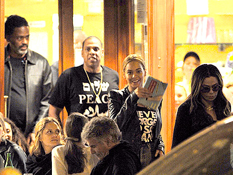 Beyonce, Jay Z and Tina Knowles
