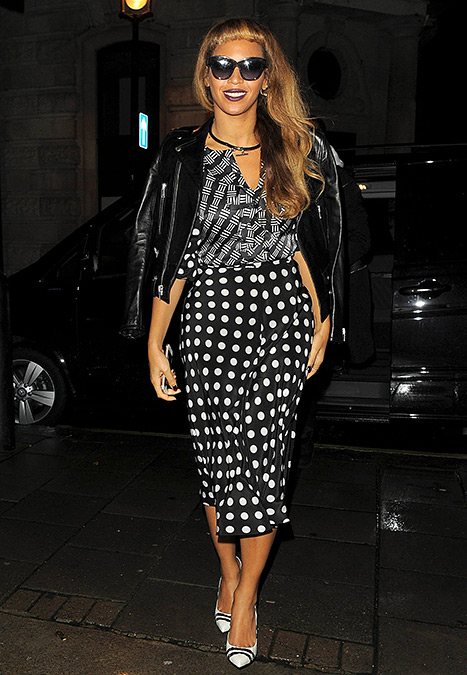 Beyonce Knowles - mixed prints