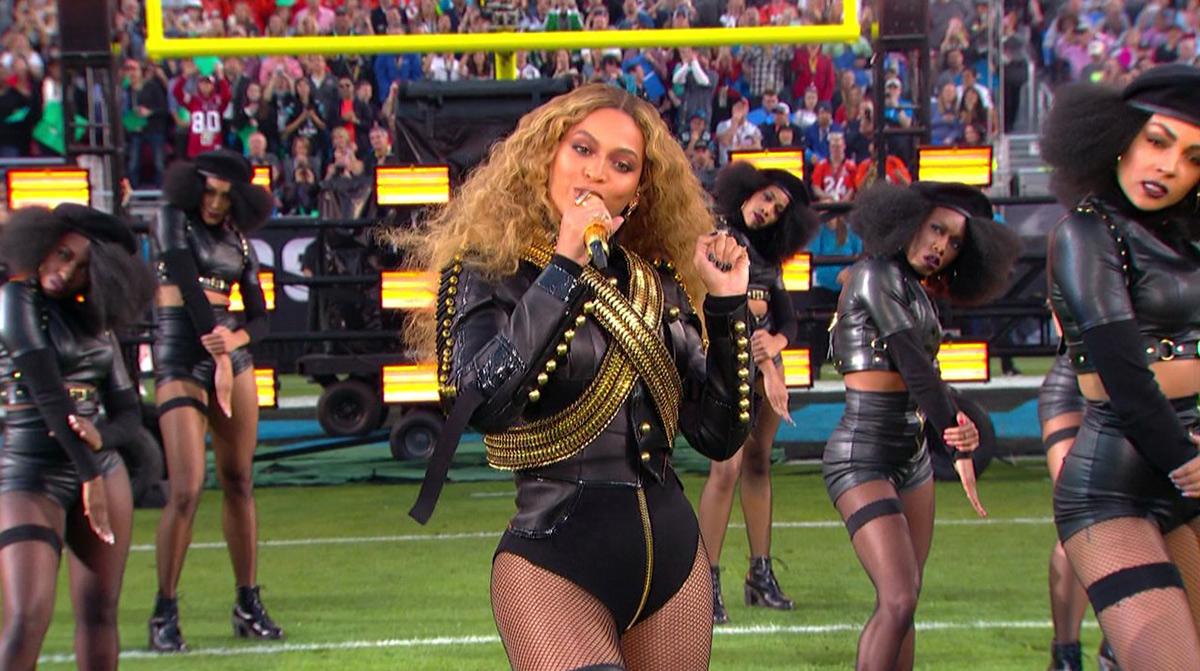 Beyoncé at the Superbowl