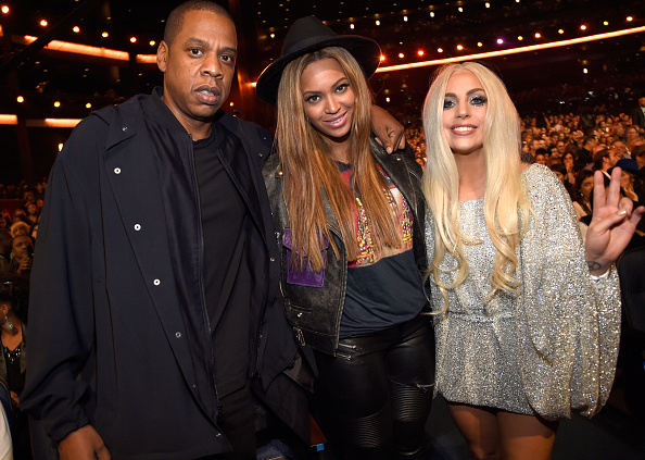 Beyonce and Lady Gaga