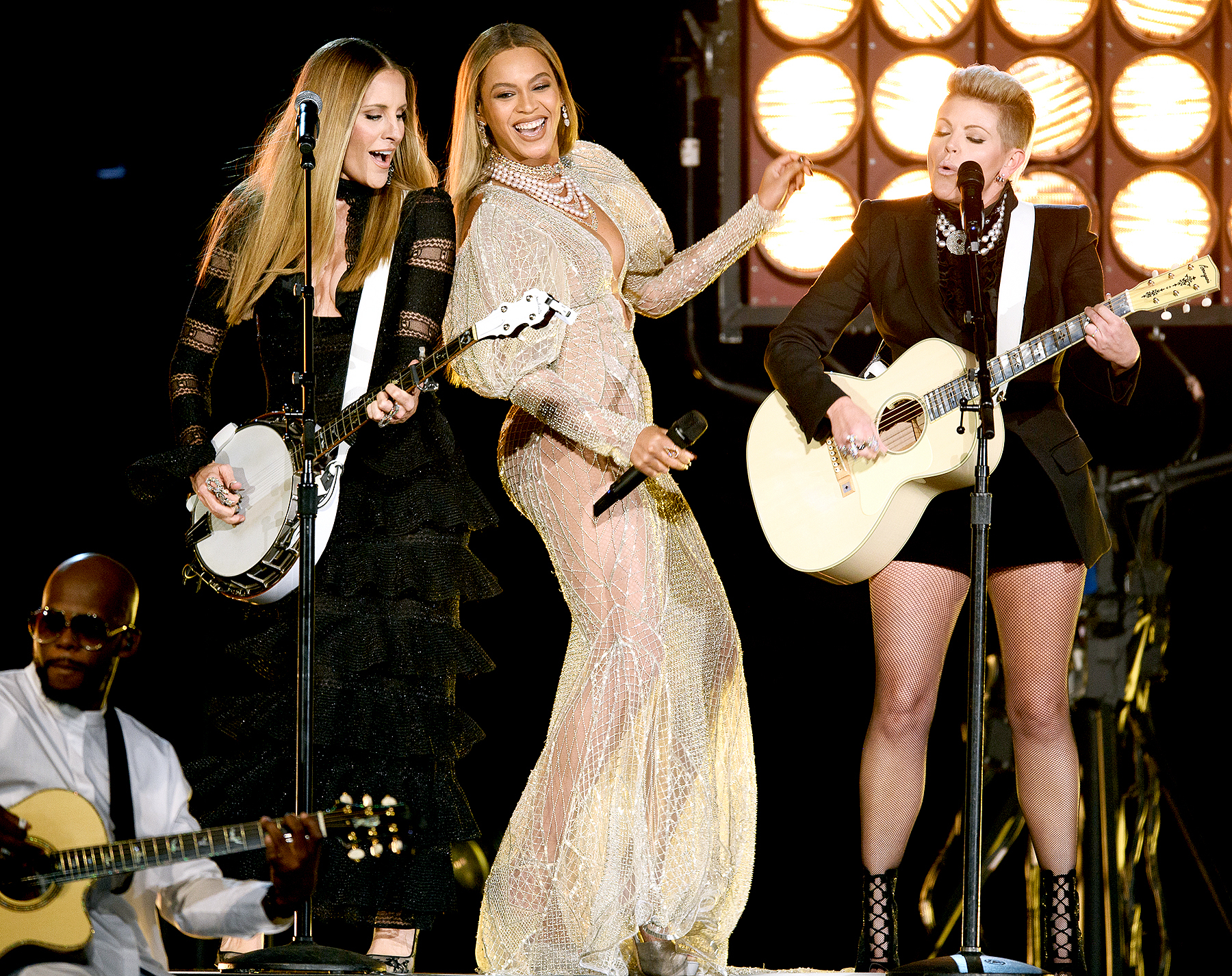 Emily Robison, Beyonce and Natalie Maines