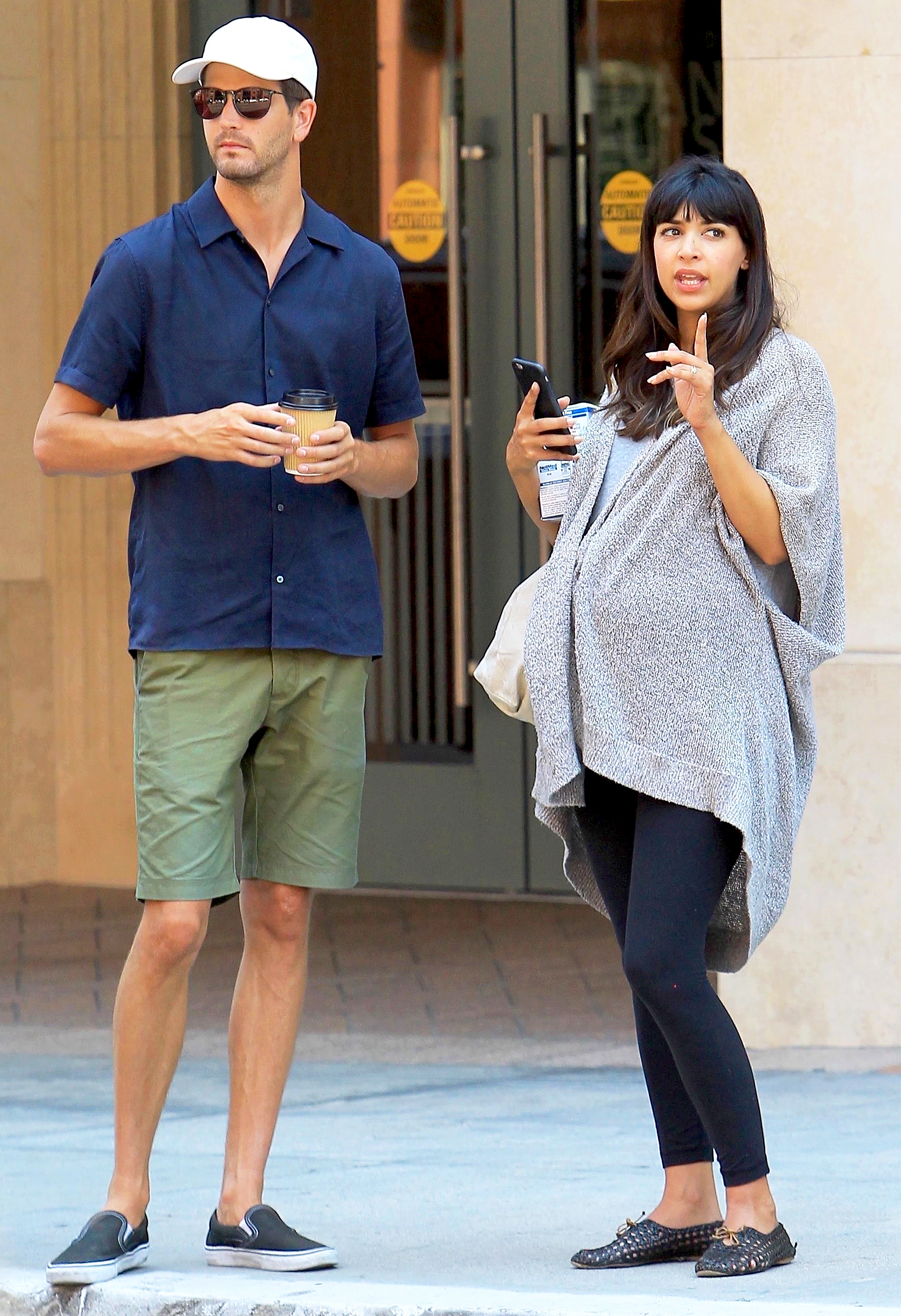 Hannah Simone and Jesse Giddings