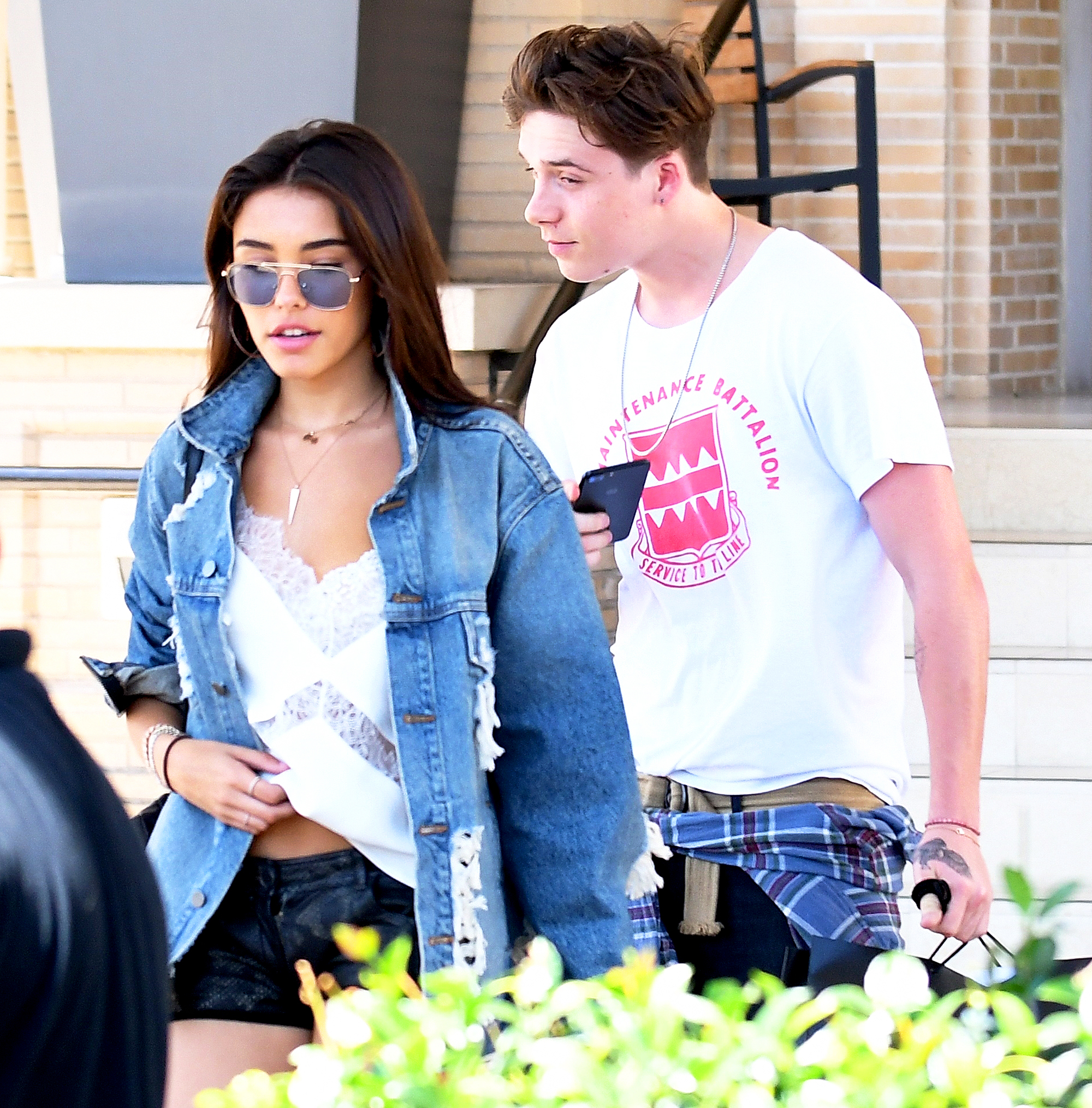 Madison Beer and Brooklyn Beckham