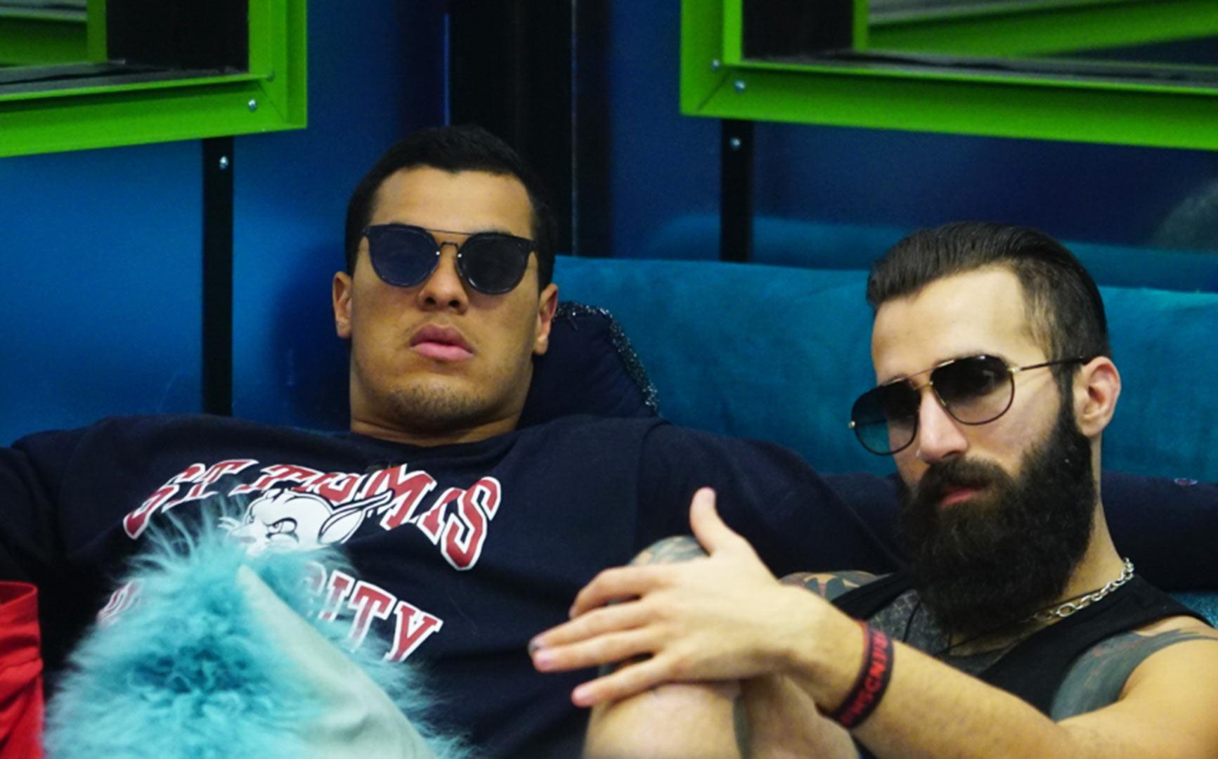 Josh Martinez and Paul Abrahamian