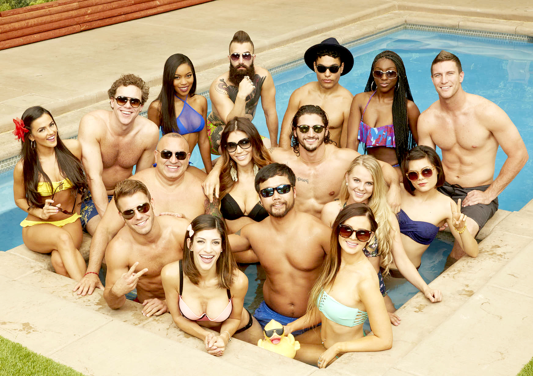 The cast of Big Brother 18.