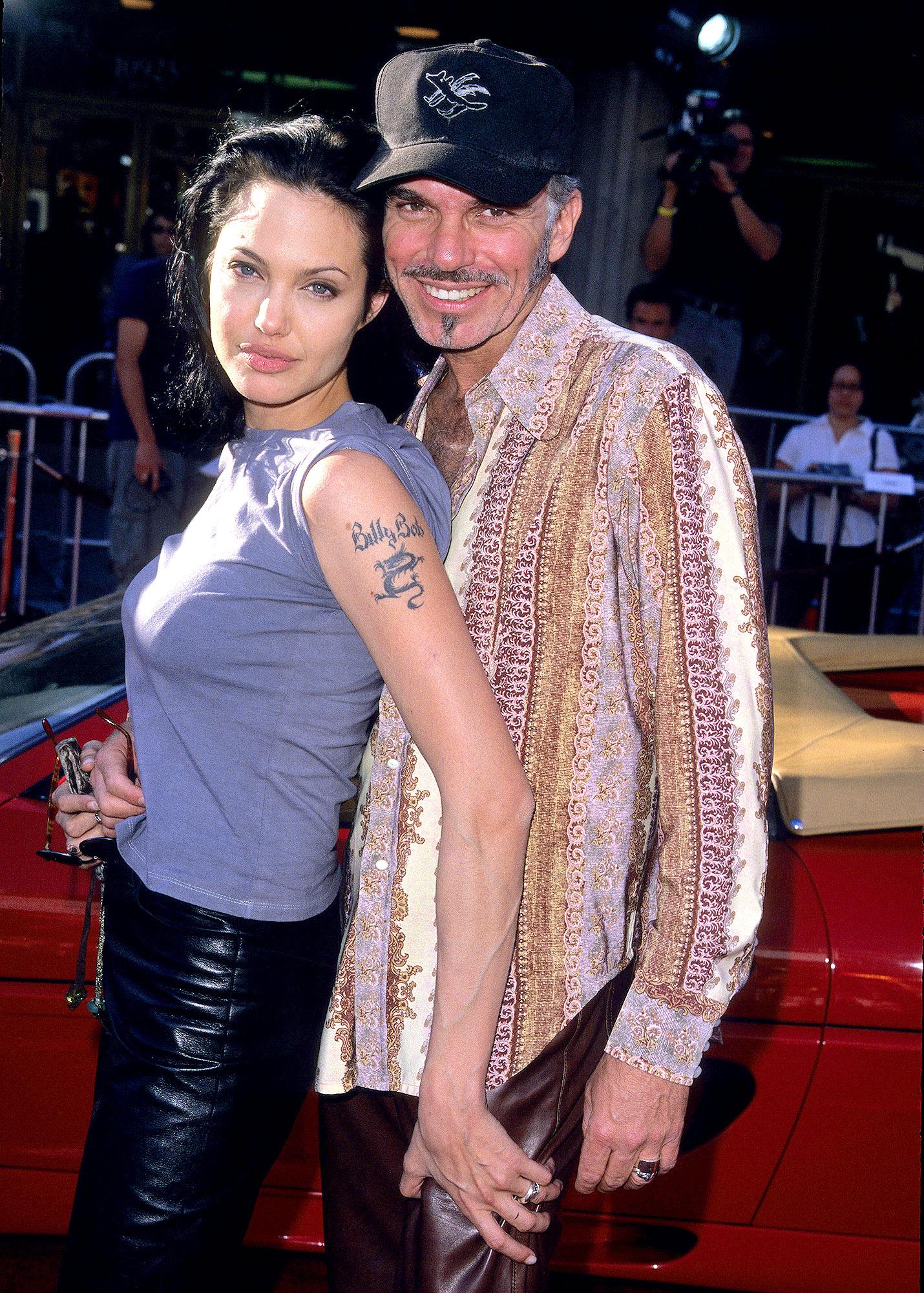 Angelina Jolie And Billy Bob Thornton S Granitz Wireimage