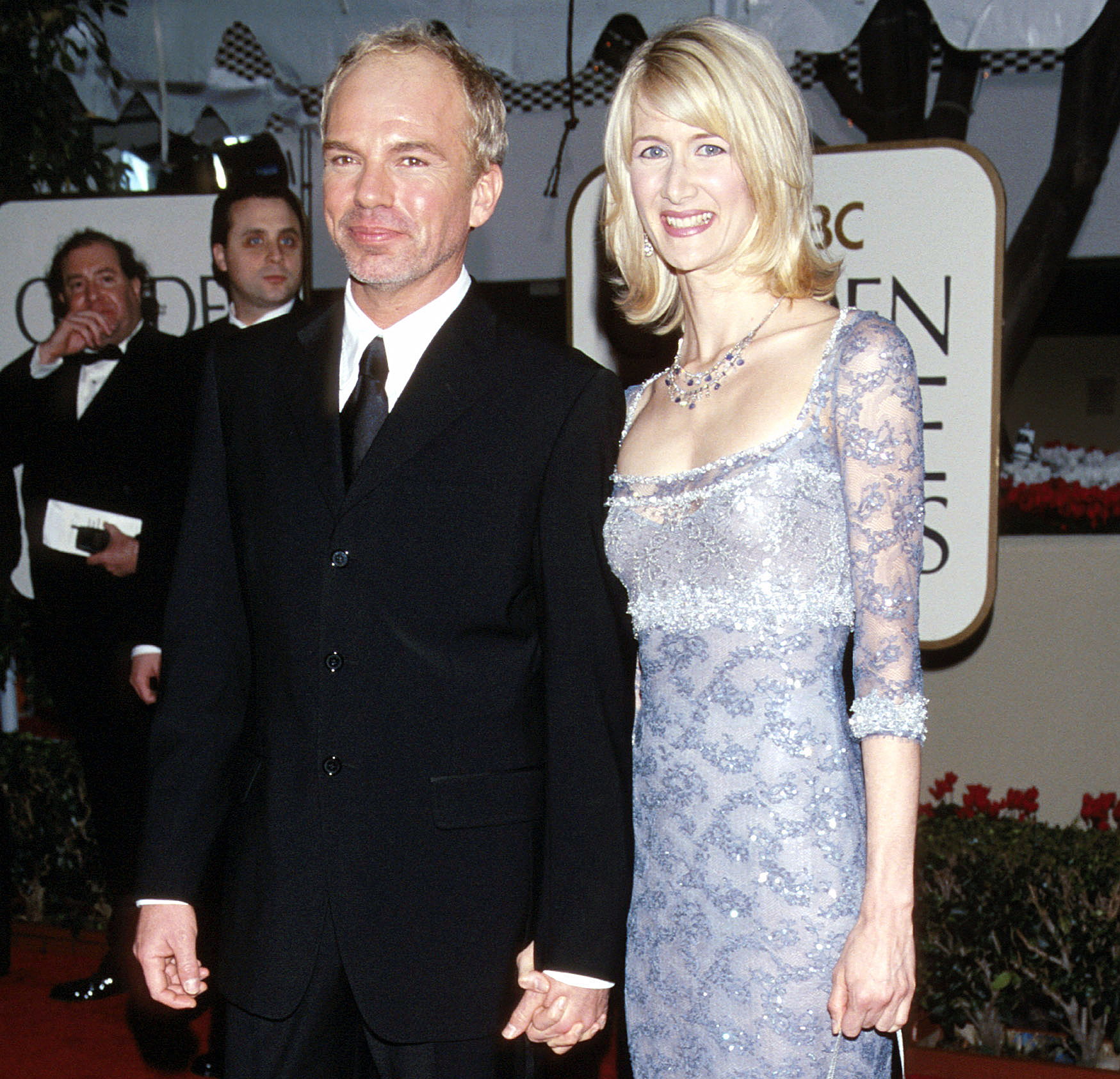 Billy Bob Thornton Laura Dern Golden Globes 2000