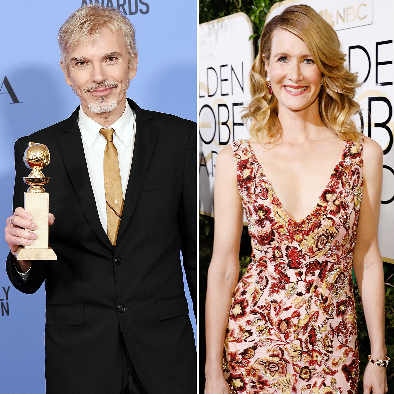 Billy Bob Thornton Laura Dern Golden Globes