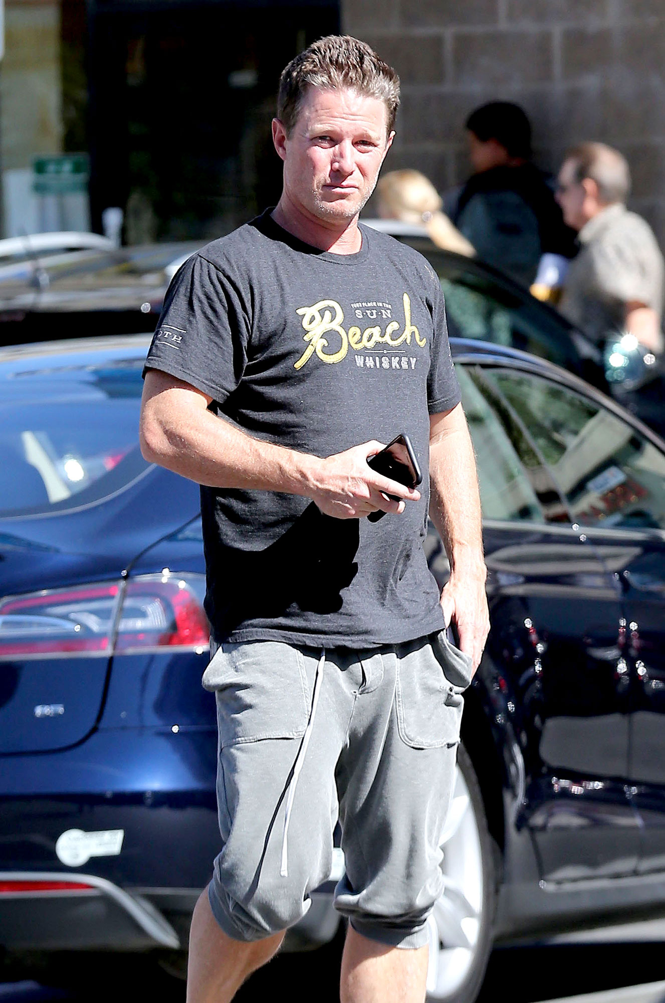 Billy Bush Steps Out After Sexist Tape Leak Photo