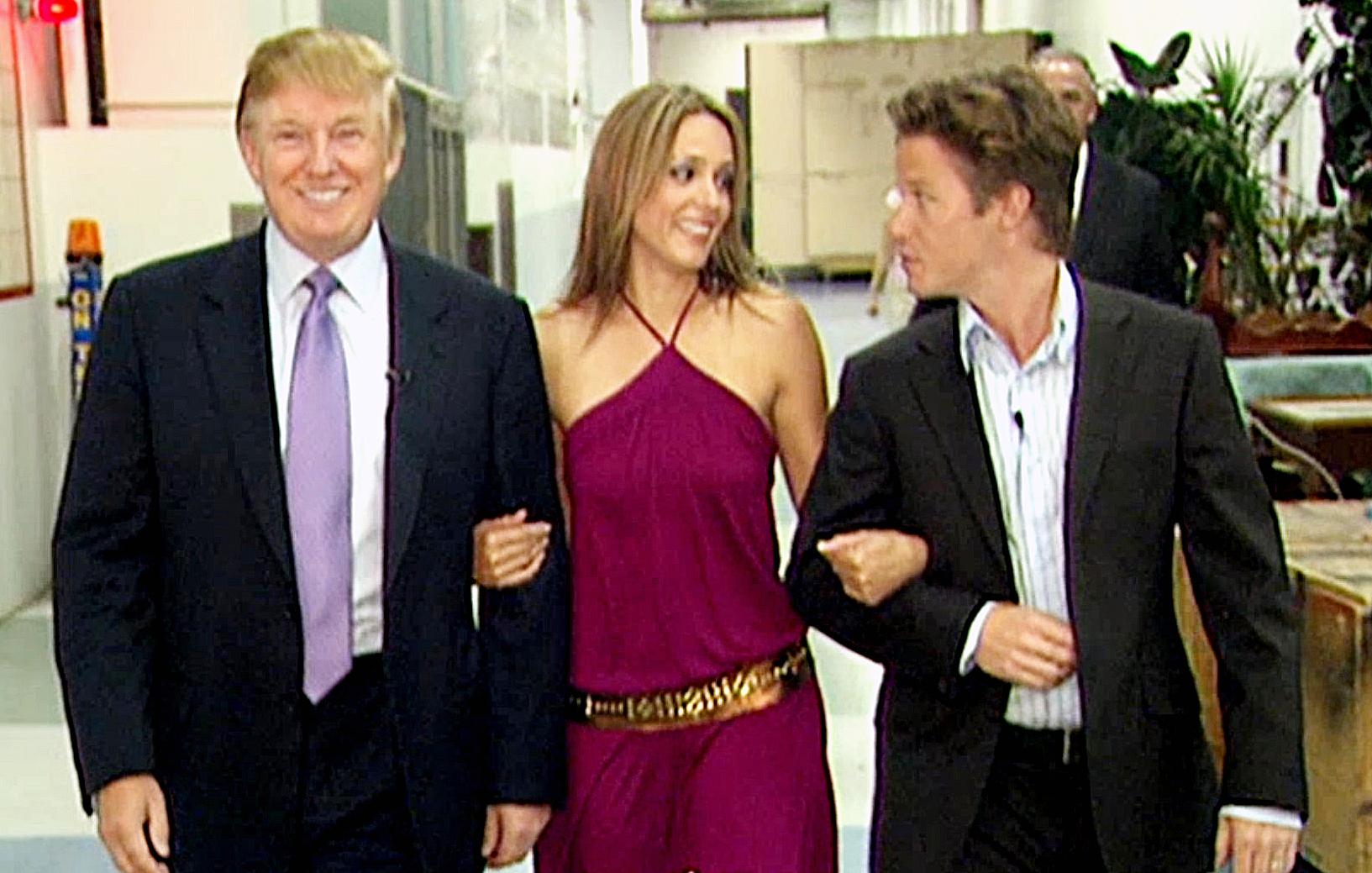 Donald Trump Arianne Zucker Billy Bush