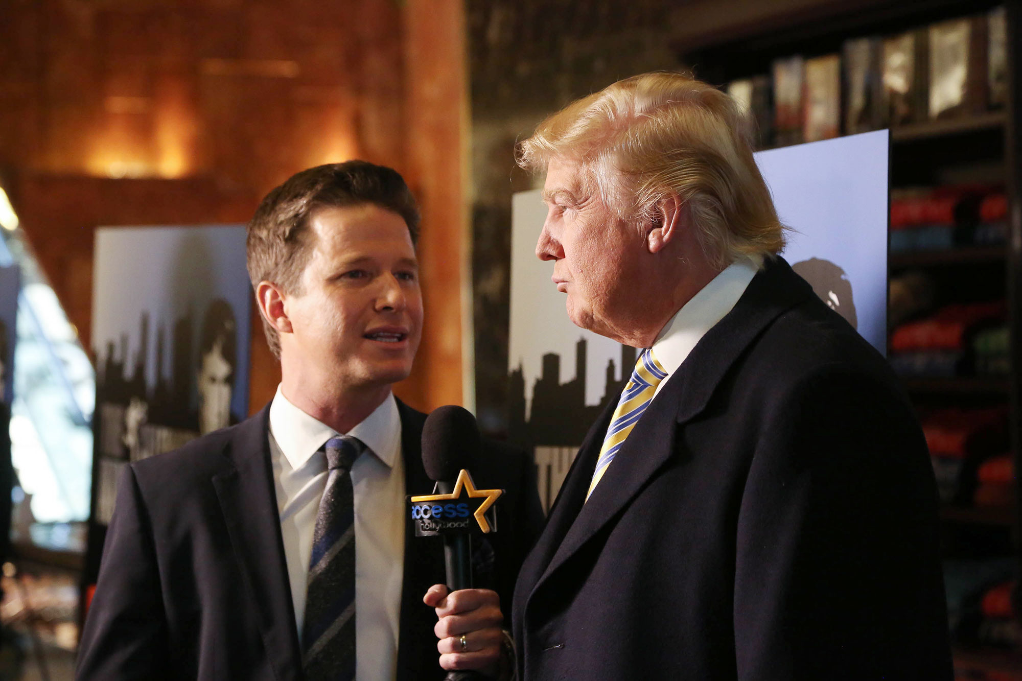 Billy Bush and Donald Trump