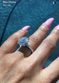 Blac Chyna engagement ring