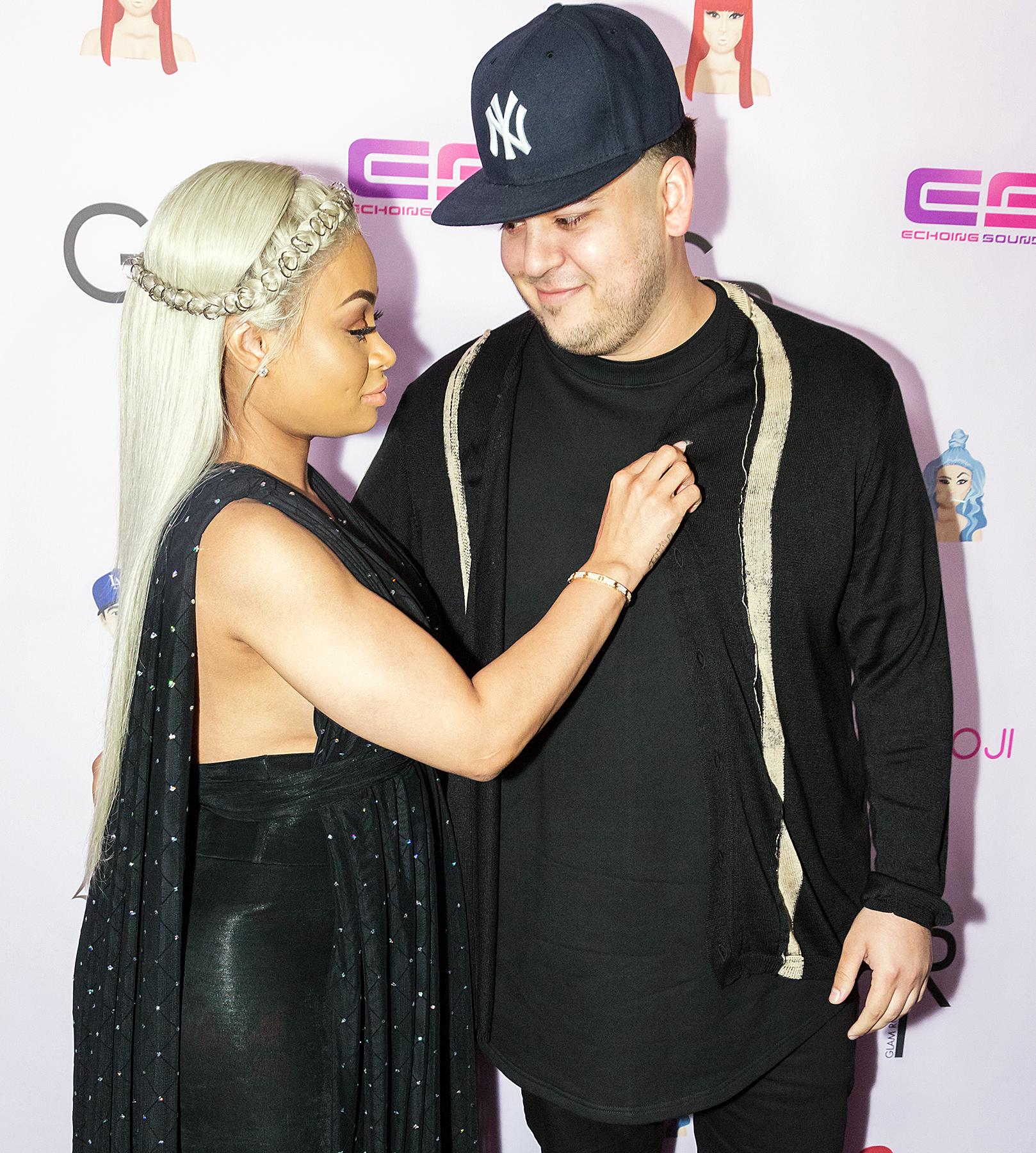 Is rob kardashian married to blac chyna