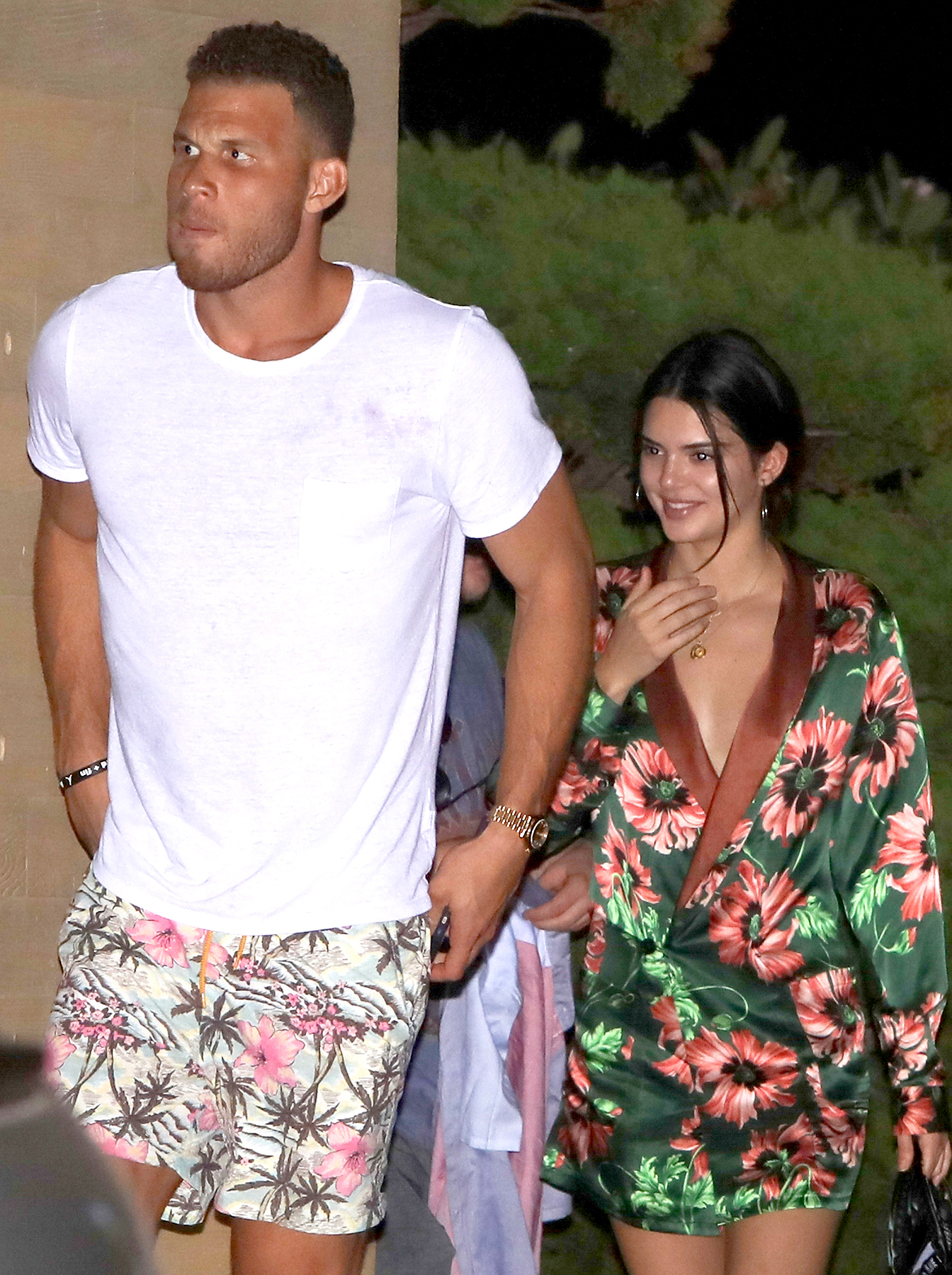 Kendall Jenner and Blake Griffin are spotted on a dinner date night at Nobu on September 2, 2017.