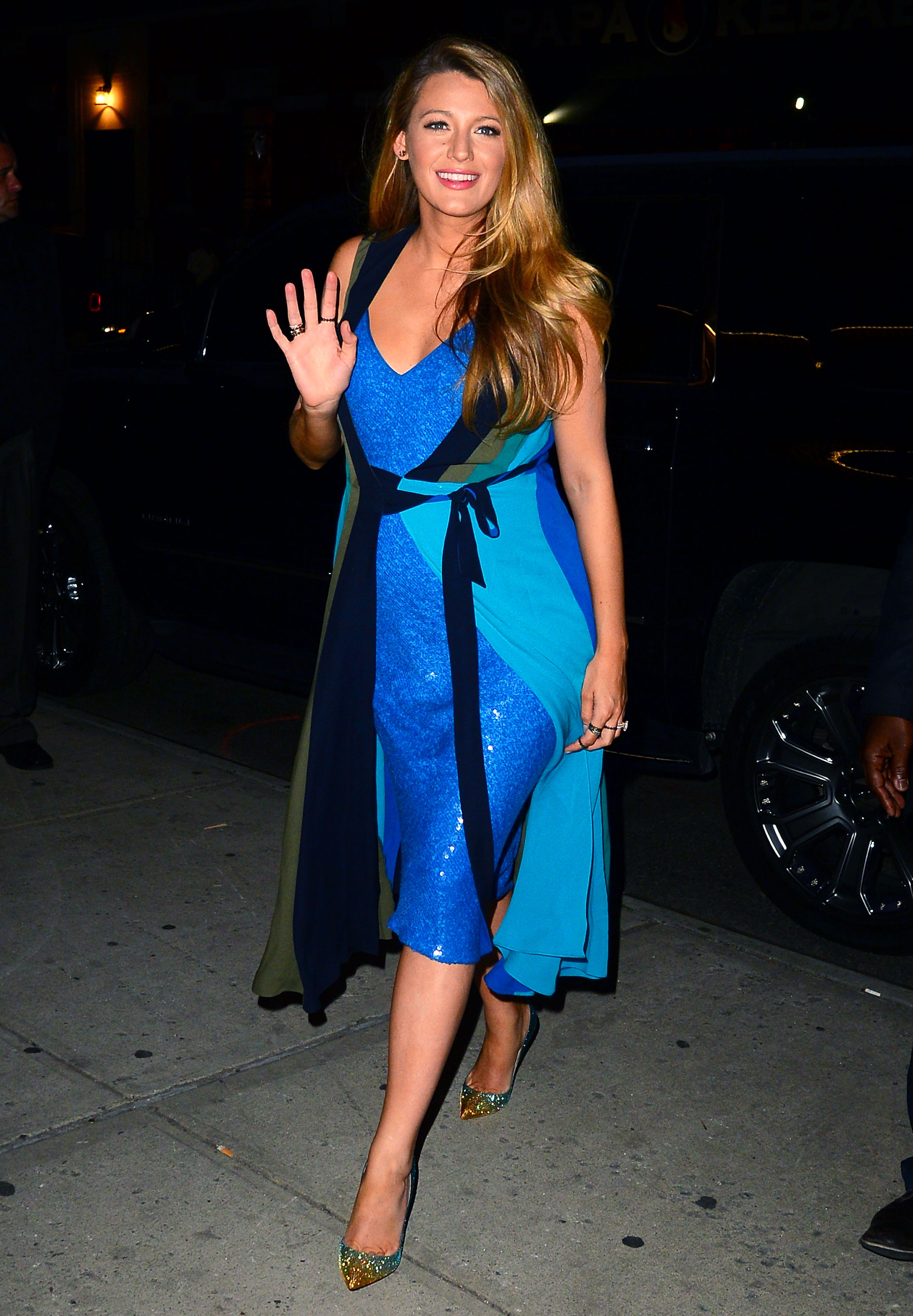 Pregnant Blake Lively Just Wore Two Different Dresses at ce