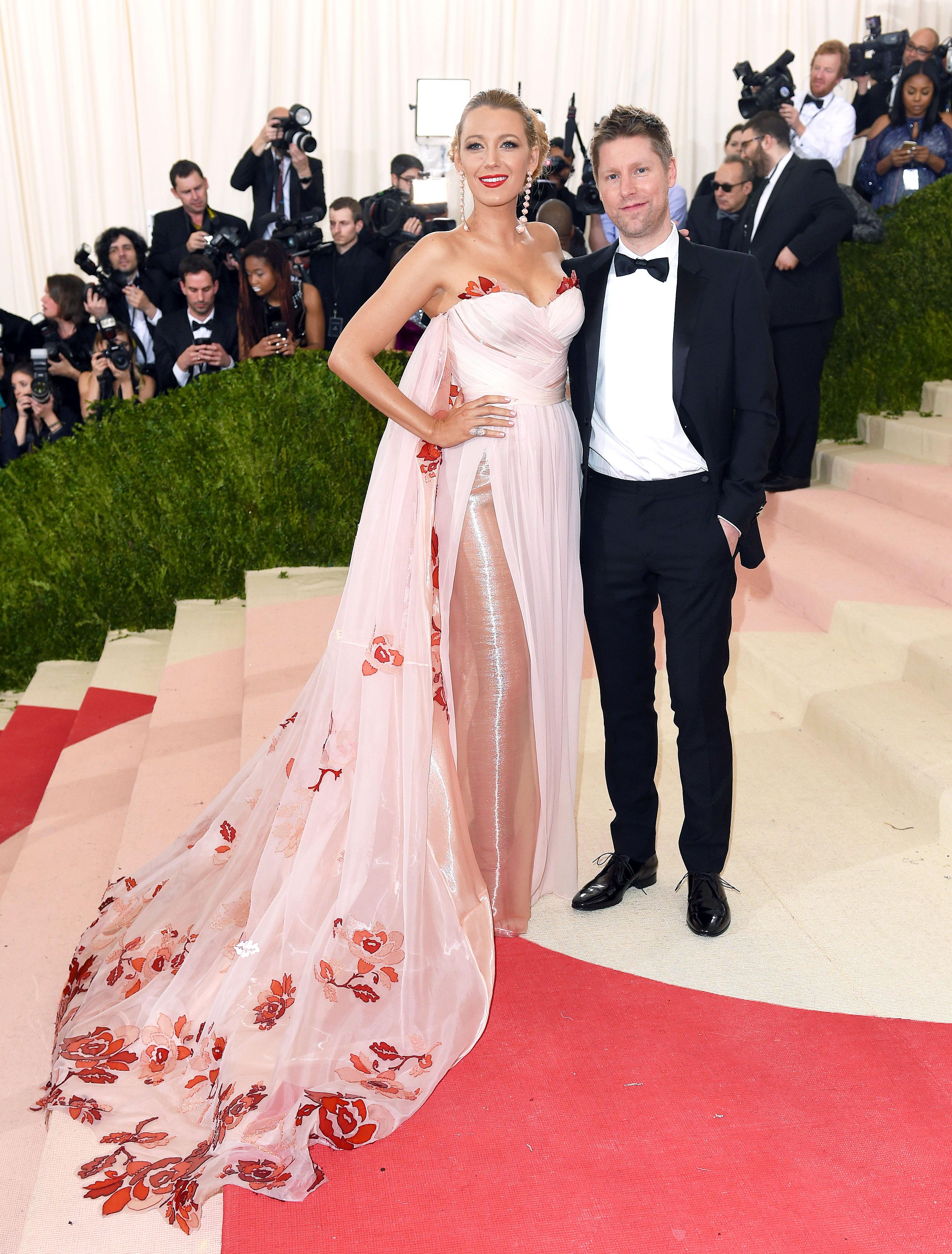 Pregnant Blake Lively Helped Design Her Met Gala 2016 Dress