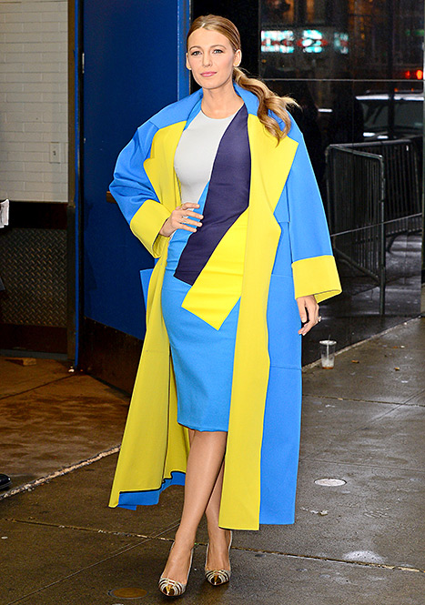 Blake Lively - GMA (leaving)