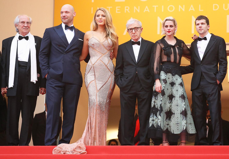Corey Stoll, Blake Lively, Woody Allen, Kristen Stewart and Jesse Eisenberg
