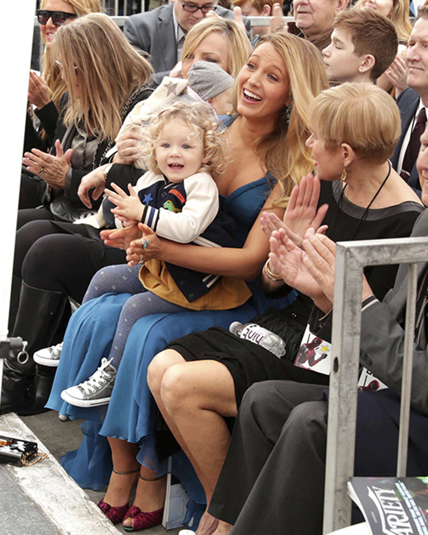 Blake Lively, Ryan Reynolds' Children Make Public Debut