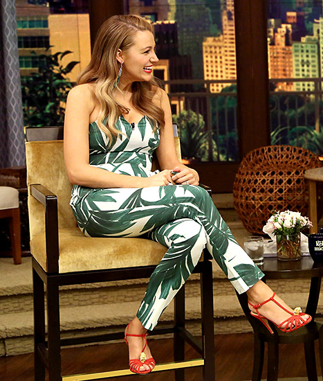 Blake Lively - Live with Kelly and Michael (outfit)
