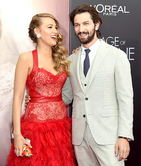 Blake Lively and Michel Huisman - Age of Adaline premiere