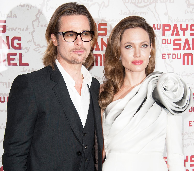 Brad Pitt Angelina Jolie S Plane Fight Caught On Video
