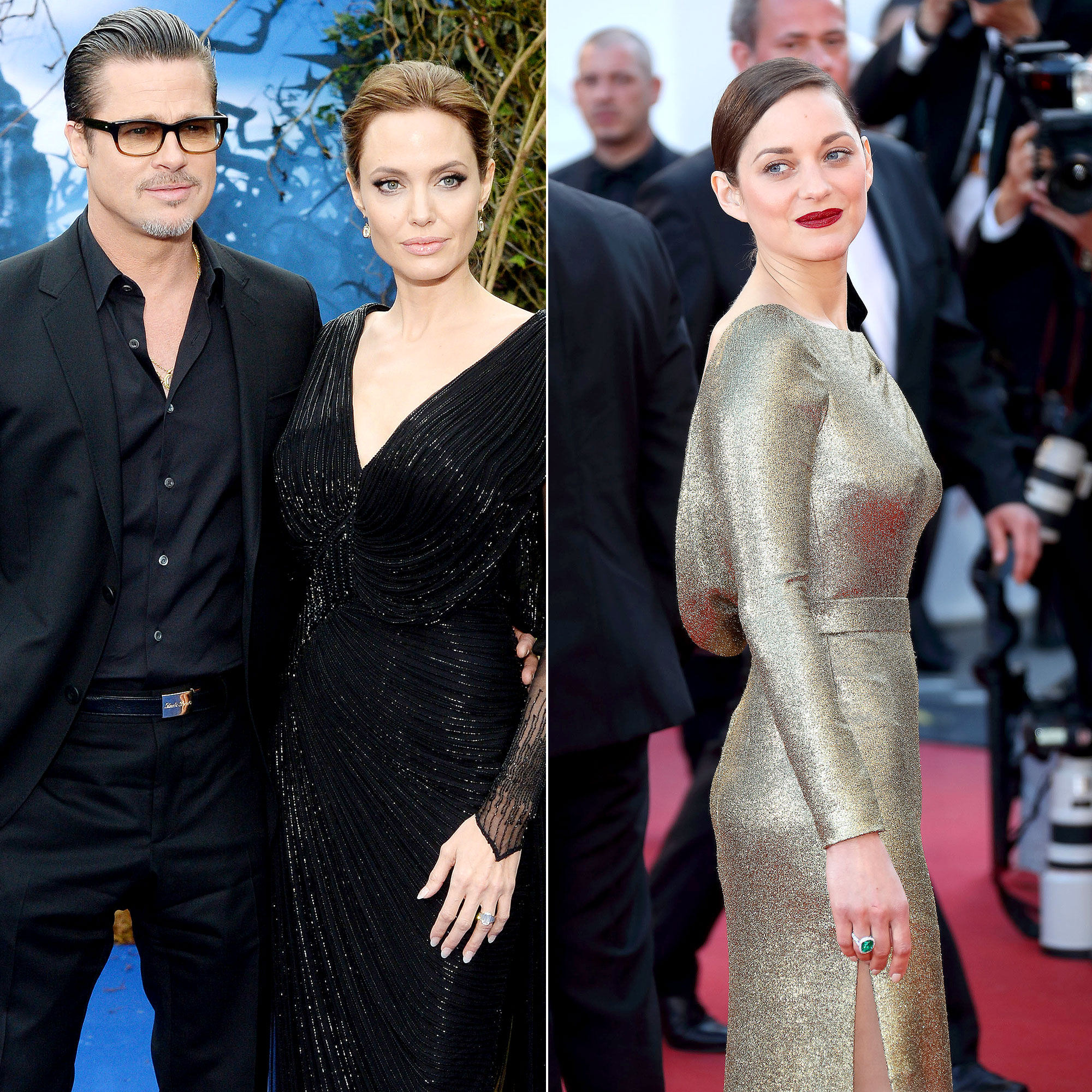 Angelina Jolie Brad Pitt Split Did Marion Cotillard Play A Role