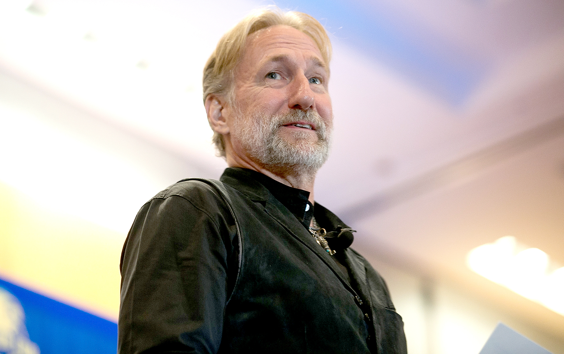Brian Henson presents a panel on muppet performance at Dragon Con on September 2, 2016 in Atlanta, Georgia.