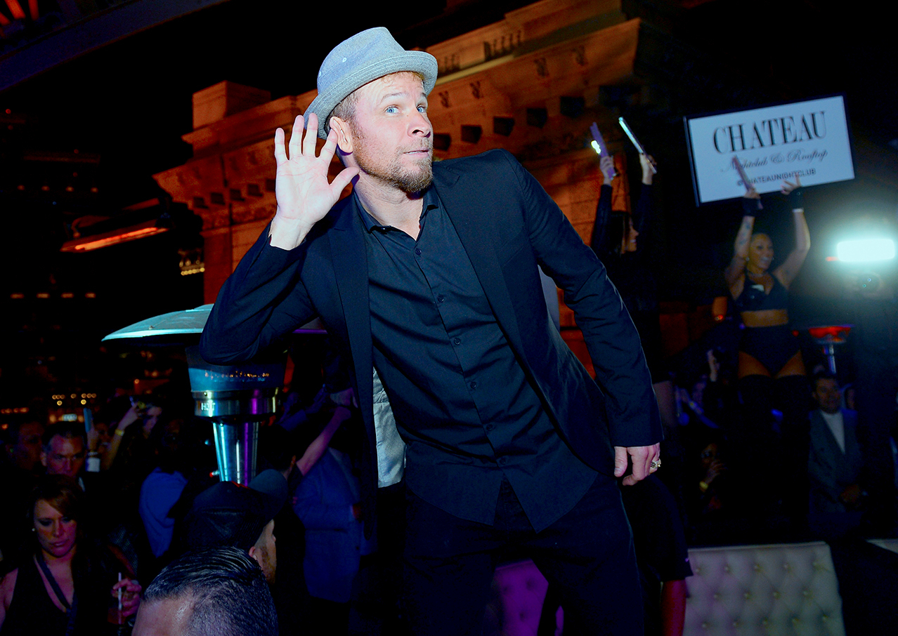 "Brian Littrell of the Backstreet Boys attends the after party of the debut of the group's residency ""Larger Than Life"" at the Chateau Nightclub & Rooftop at the Paris Las Vegas on March 2, 2017 in Las Vegas, Nevada."