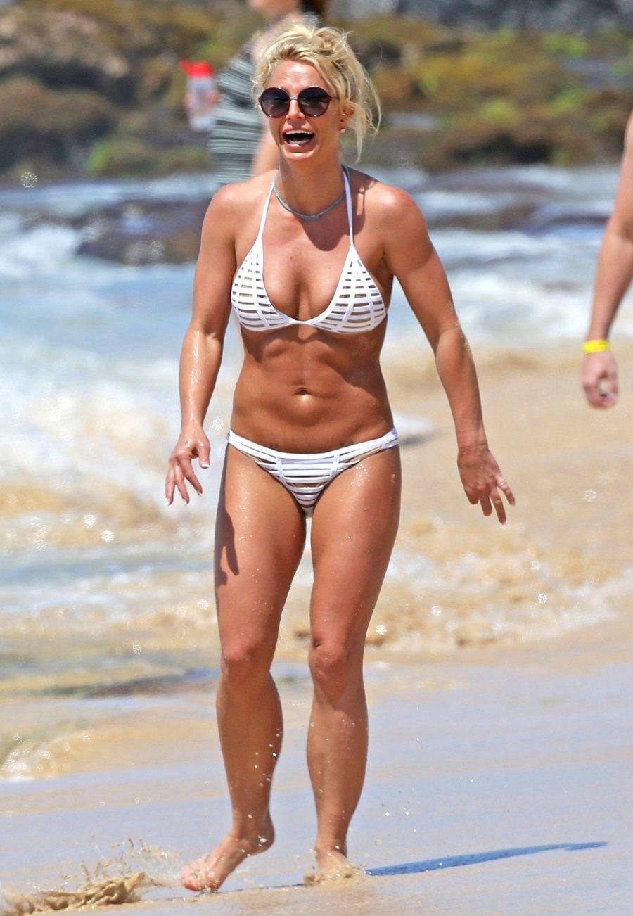 Britney Spears Bikini Body Swim Style Through The Years Photos