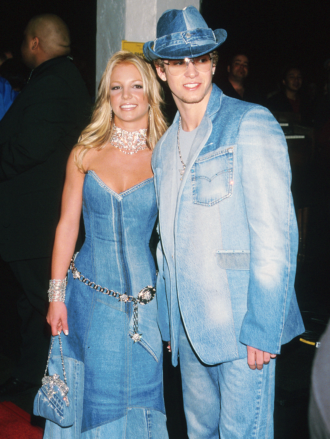 Britney Spears Justin Timberlake matching denim