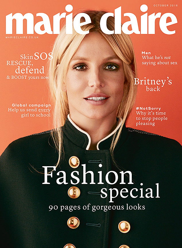 Britney Spears Marie Claire UK