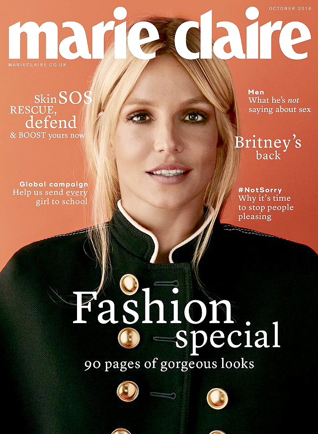 Britney Spears for Marie Claire