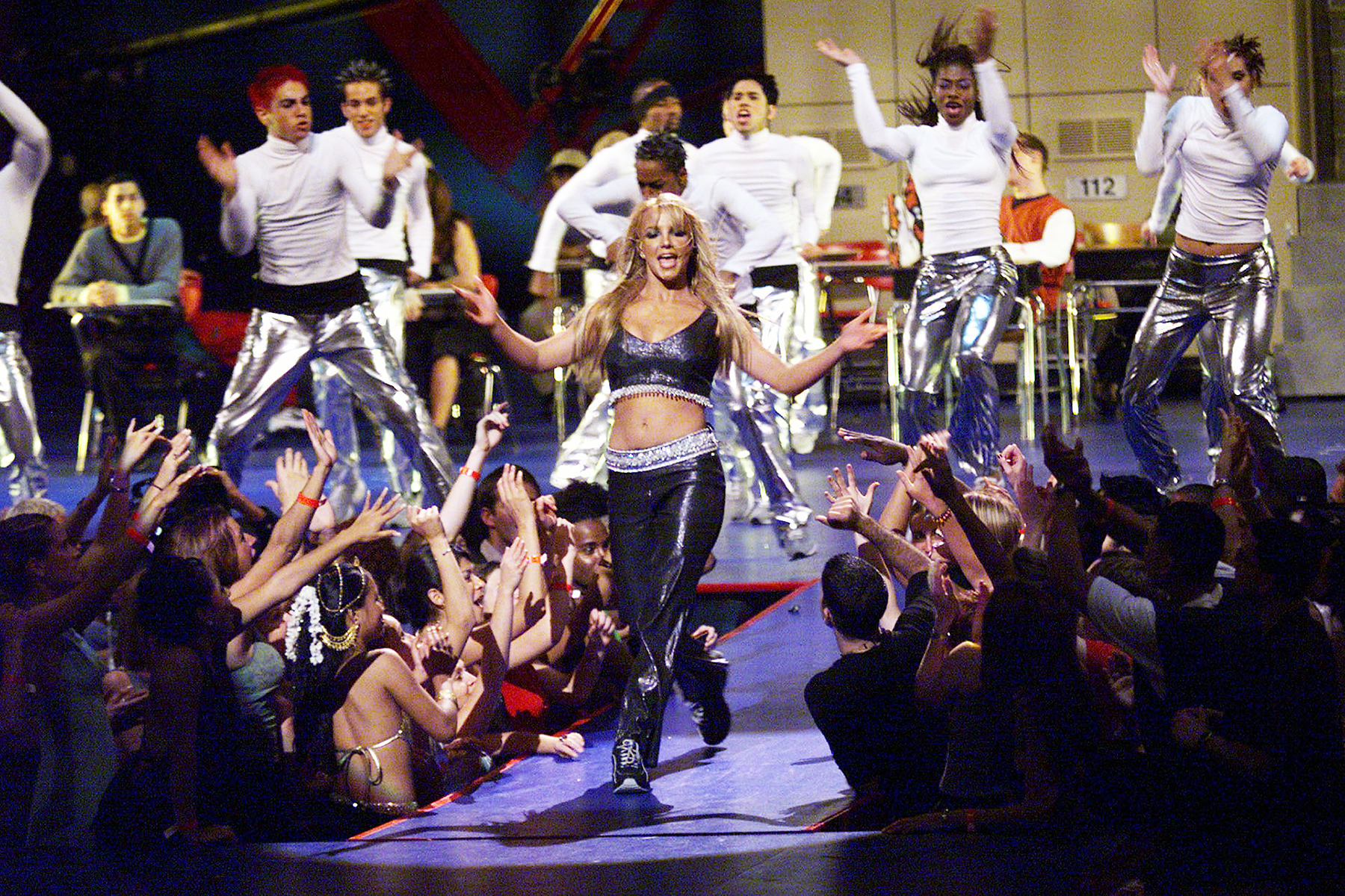 Image result for britney spears vma 1999