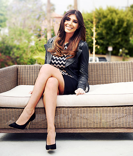 Brittny Gastineau - couch