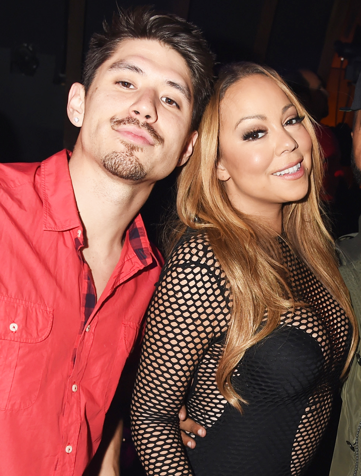 Bryan Tanaka and Mariah Carey