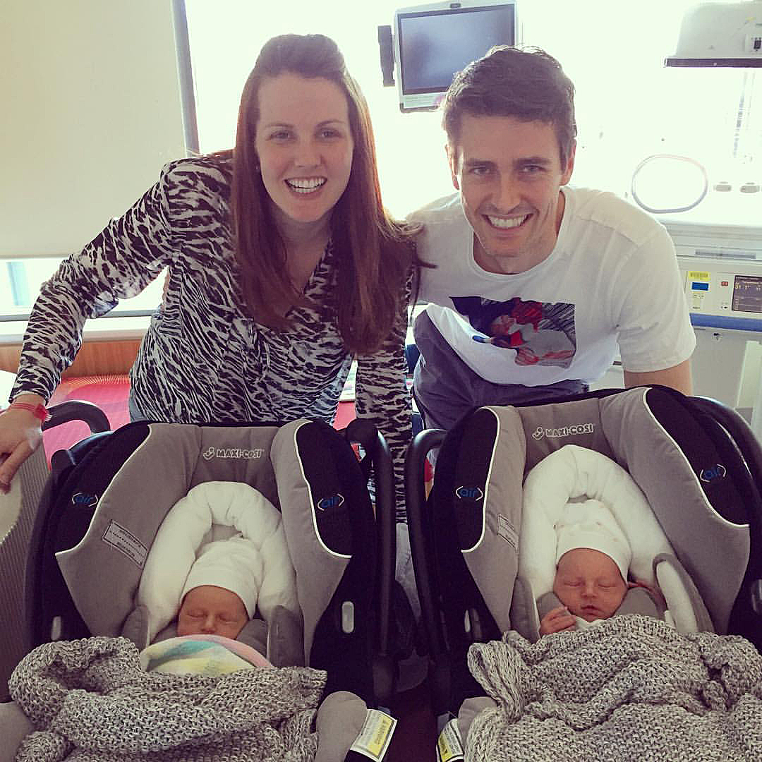 mom gives birth to second set of identical twins